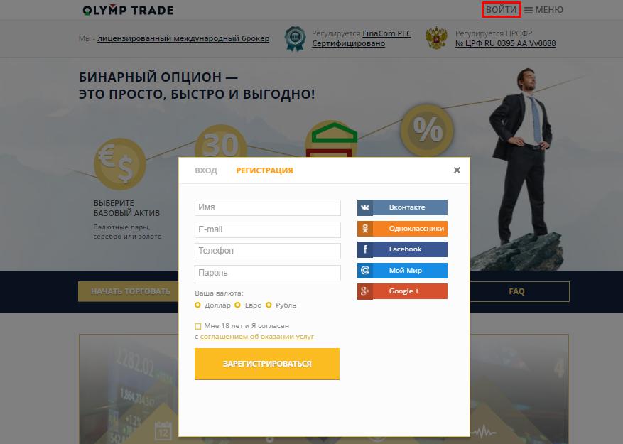 украинские брокеры бинарных опционов